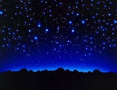 Look up, lest you forget the stars.