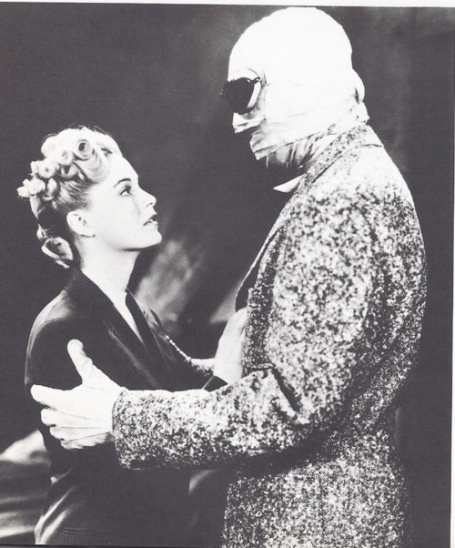 Nan Grey and Vincent 'Invisible' Price, in The Invisible Man Returns.