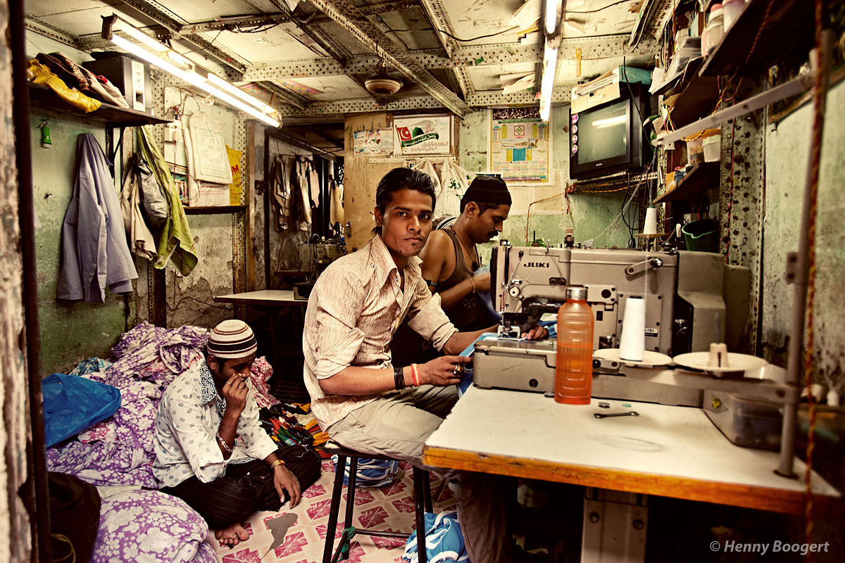 Indian Sewing Shop | Life in Mumbai, India 2011