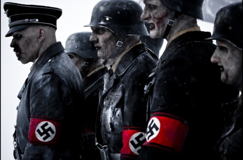 This is Dead Snow. A gory horror movie about zombie nazi's that come back to get there gold. Okay, so it's pretty cheesy and in subtitles but my sister and I had a laugh when we watched it.