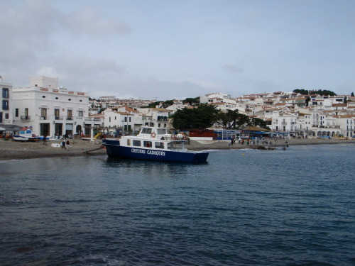 Cadaqués shorline. Taken April 3, 2010.