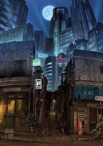 velvetcyberpunk:  The mean streets.