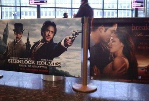 "sofapizza:  ""good job positioning those posters, kid who works at the movie theater"" (via toshblog)  FSSSHHHH YES"