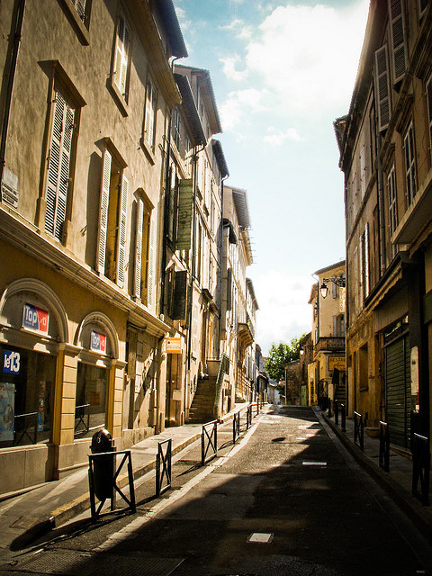 | ♕ |  Street in Privas - Ardeche, France  | by © Nadia H.
