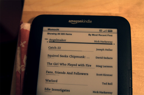 there's many pros to owning a kindle, i've been telling everybody since i got one, but perhaps the most lovely one is that even if you live in the outskirts of the empire you can snap up the book you've been eagerly anticipating (for years, no less) the very same day it hits the shelves. that's progress, my dudes.