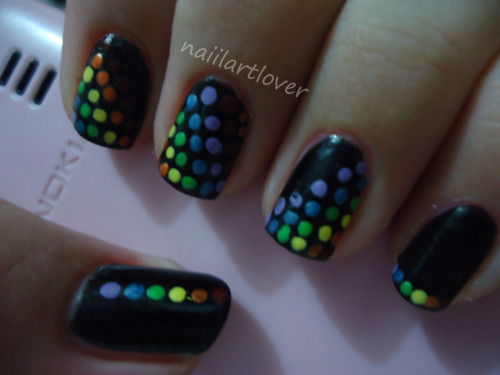 Rainbow Dots  (Click photo for story)