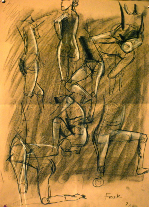 Week #4  Figure Drawing