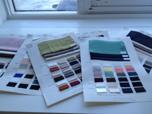 Sourcing the spring/summer 2013!