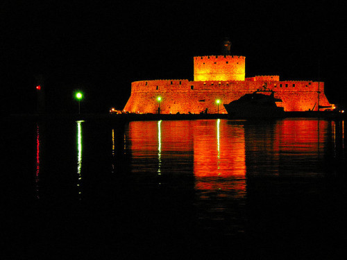 Fortress of St. Nicholas - Rhodes Greece by pantherinia_hd Anna A. on Flickr.