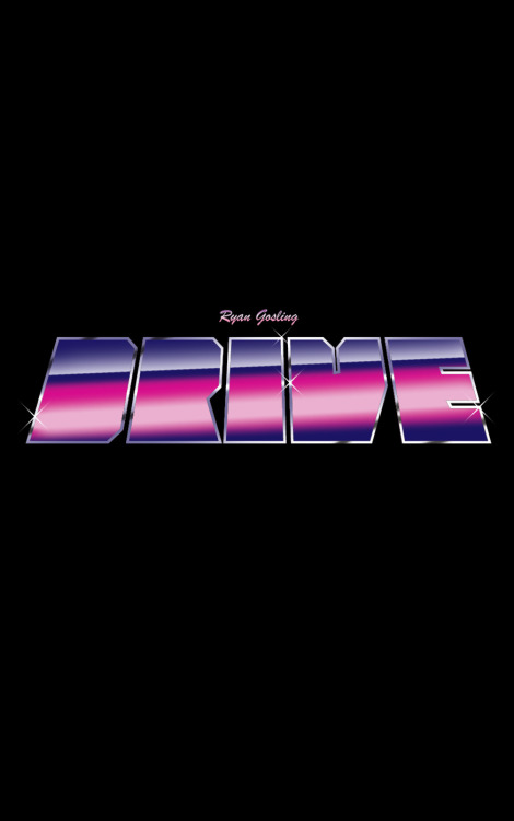 Ryan Gosling, Drive. By jamesydesign