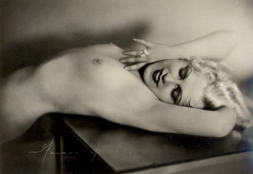 regardintemporel:  Studio Manassé - Nu, Paris, ca. 1930