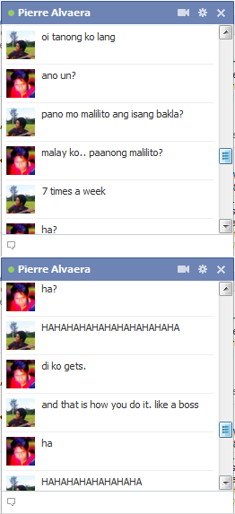 Trolled my good friend pierre. Mehehehehe.