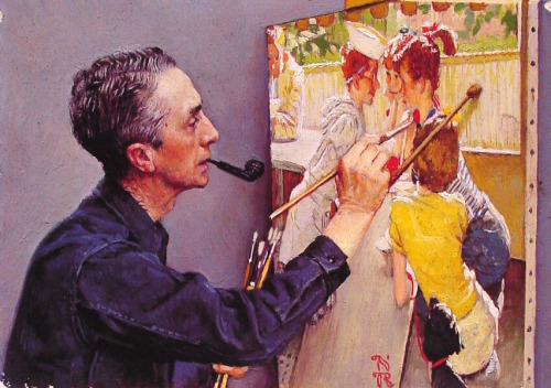 retrogasm:  HAPPY BIRTHDAY NORMAN ROCKWELL (118)  :)