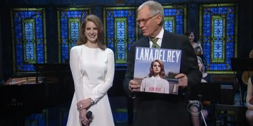 Lana Del Rey Actually Killed On Letterman Last Night