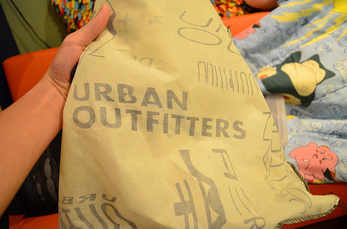 parwadise:  the bags at urban are the cutest :33