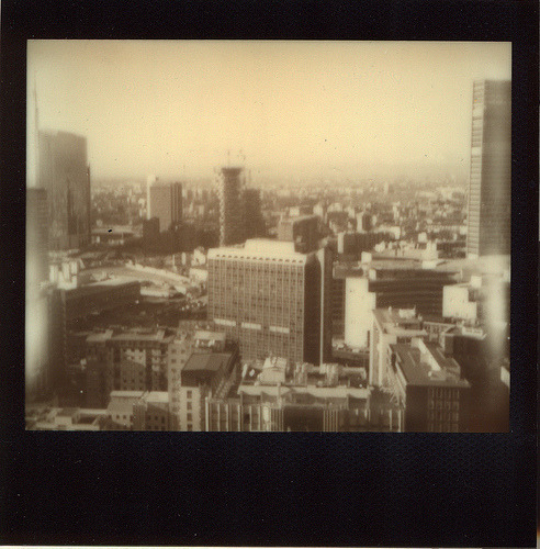 Weekend Camera: Polaroid Spectra Film: Impossible Project Black Frame