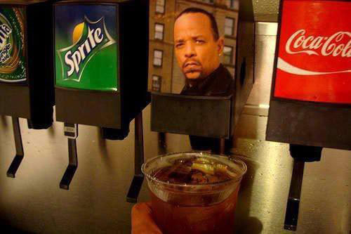 There are not many things in this world better than Ice T face. thrillist:  So much better than Sweet Tea.