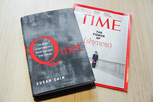 thelavinagency:  Lavin's Susan Cain is featured in this week's Time cover story on shyness—and for good reason! Her book, Quiet: The Power of Introverts in a World That Can't Stop Talking, will debut at #4 on The New York Times bestseller list this weekend. Susan's book is a rebuff to the Extrovert Ideal, and a manifesto for the under-utilized strengths of the quieter third of the population.
