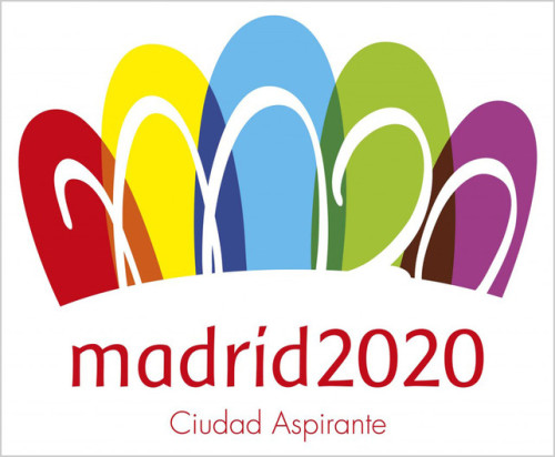"You think the London Olympics logo is bad? Pshaw. Check out what Madrid dug out of the ugly bag.  Spaniards mocked the logo swiftly and savagely, with people on Twitter comparing it to everything from flip-flops to bishop mitres. The country's largest daily newspaper polled readers on how much they liked the new logo. More than 80% said ""not at all."""
