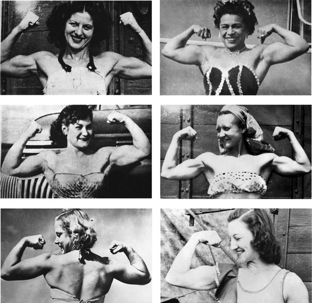 (via Venus with Biceps: A Pictorial History of Muscular Women | Brain Pickings)