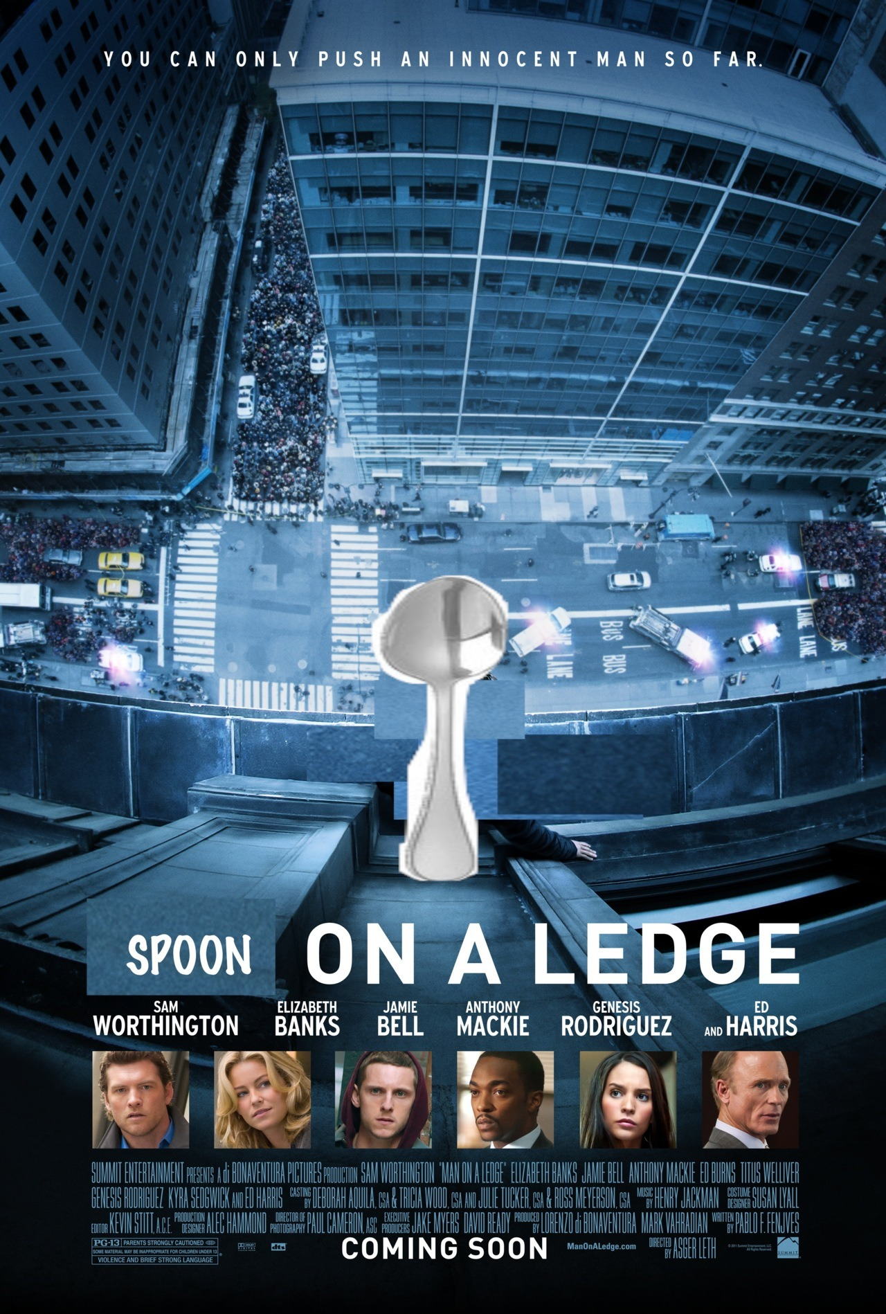 Spoon on a Ledge