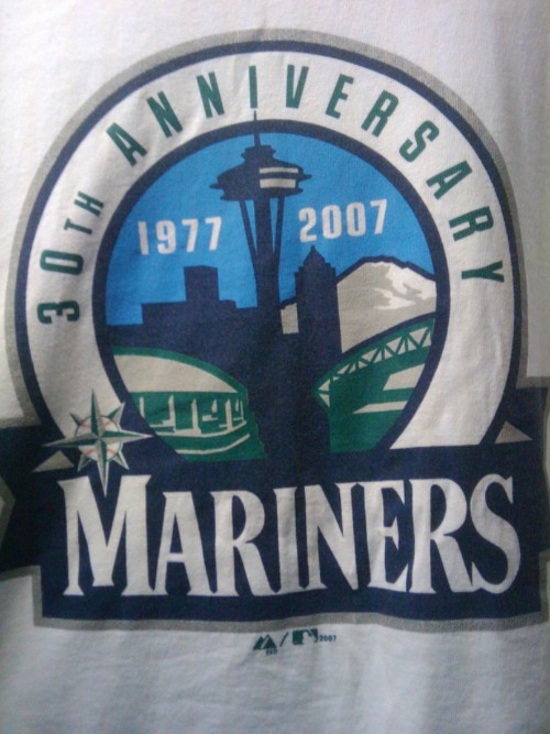 T-shirt Of The Day-Seattle Mariners 30th Anniversary