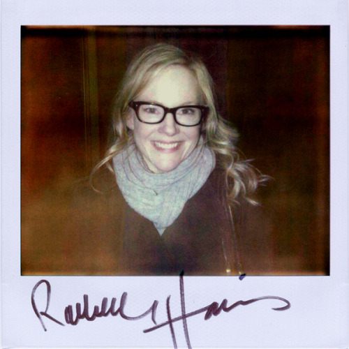 "Rachael Harris - Because it was great to meet @RachaelEHarris a couple weeks ago at @SFSketchfest after a hilarious performance of Wain and Showalter's unproduced script ""They Came Together""."