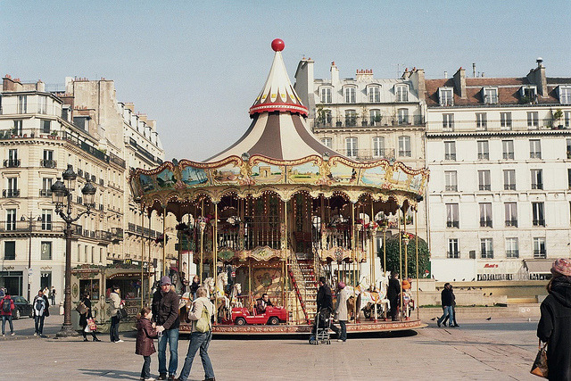 merry-go-round. by Petrana Sekula on Flickr.