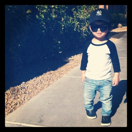 Submission from lsdfashionlab  What it do my nephew #briankeanu #booboo Via #tangphotograhy