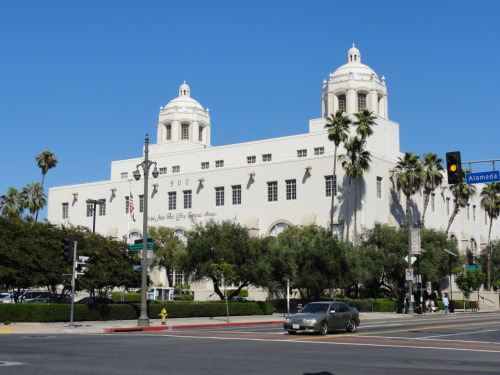 #Architecture Beautiful Spanish colonial Post Office, downtown LA, August 2011.