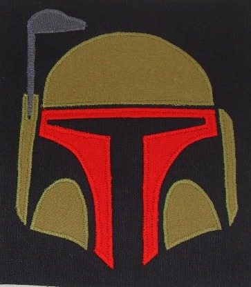 Boba Fett patches now available, too! Find them here: http://www.etsy.com/listing/92140397/boba-fett-patch-large-free-shipping-when