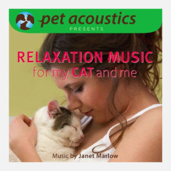 Relaxation Music For My Cat & Me, 29% offEvery pet owner knows their feline's anxiety triggers, whether it's thunderstorms, visitors, a ride in the car or a visit with the vet. Stress-inducing situations can be made less tense (for you and your kitty) with a little relaxation music. Created by composer and researcher Janet Marlow, this series utilizes the science of how cats hear to modify the music's frequency range according to Whiskers' sensitivities. Help your cat reach a state of calm with these soothing orchestrations.