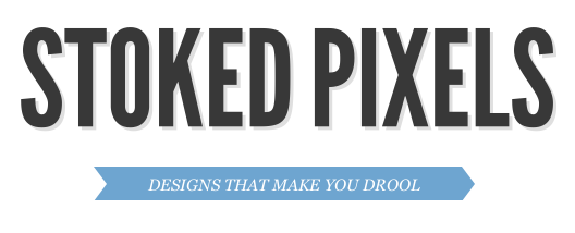 Have you guys checked out my new website Stoked Pixels? It highlights awesome graphic design from around the web. Click the image or link below to take a peak. Give it a follow as well ;) http://stokedpixels.com