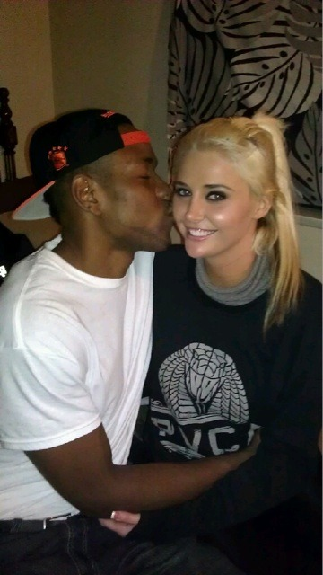 Kristina and her boyfriend Craig Brackins. Awww. :)