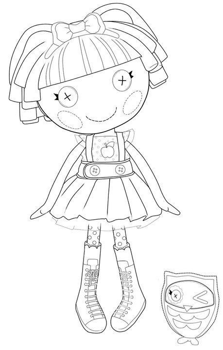 Dibujos para colorear e imprimir gratis de mini lalaloopsy - Imagui