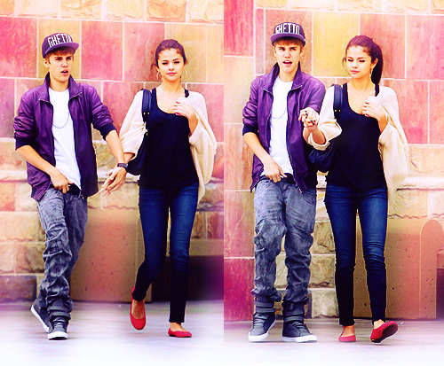 """NEVER LET ME GO"" Chp.6 Justin POV; I wrapped my arms around her when Selena joined into my offer for a hug, then widened my eyes when I heard what she asked. I couldn't believe she'd just asked me that. If I loved Jasmine. If only she knew how deep my feelings were for her.  I swallowed and pulled her out of the hug, speaking instantly. ""No..Selena No. I don't love Jasmine, okay?"" I backed away from her and rushed my hands through my hair, clutching onto it when I did. I heard the sound of a door open and close, but I ignored it. Probably just other people coming in to the pool to swim. ""You don't believe the paps, right? They're trying to make you do this. It's what they want. They WANT you to think I have feelings for Jasmine."" I brought myself closer to her again, my lock on her eyes still going on. ""You're my girlfriend. I only have feelings for you."" I placed one of my fingers underneath her chin when her eyes turned away from me. ""You believe me, right?"" Selena POV; I nodded. I do believe him. I needed to just let this all go. ""You're right. It's what they want me to do. I'm sorry, I shouldn't have asked."" ""You were curious, it's alright baby."" He replied back to me.  I felt the butterflies flutter through my stomach when I heard the cute name he called me. Baby. My favorite. I loved him so much. ""Come here."" I said and walked over to him, wrapping my arms around his neck and pulling him into a kiss. I felt his lips curl into mine, placing his hands on my hips and pulling my waist closer to his. I pulled from the kiss and smiled up at him, looking into those brown eyes. ""Can we go swimming now? Pretty please?"" Jasmine POV; I couldn't help but giggle every time I thought about the paparazis and how they crowded Selena and Justin. I found it so funny. And what they said; Priceless. The look on Justin face. I could totally see that he wanted to admit his feelings for me. Because he does like me. He loves me. I crept through the locker room, getting by Selena and Justin without them spotting me. A smirk curled onto my face when I made it out to the pool area. There was nobody there. Justin and Selena must have rented it out to themselves or something. Too late. They'd have another member now.  I had it planned out in my head. All of it. I was going to remind Justin how much he loved me. He might not have remembered that kiss since he was drunk, but now he's not. He'll remember it for sure, you know, when I try it again. I placed my towel on one of the pool chairs, turning it a little towards the left so Selena and Justin wouldn't be able to see me when they first stepped out. I'd surprise him.  I pulled my clothes over my head and revealed my red bikini, then placed myself in the pool chair and laid back. This was perfect! When he walked out, I'd wait for Selena to get into the pool, then I'd come out and surprise Justin. I'd give him my surprise and then he'd come straight back to me. Where he belonged. No more Selena. She'd be history by the time he got what was coming for him. I smirked and licked my lips, grabbing my lip gloss from out of my beach bag and applying it to my lips. I.couldn't.wait. Justin POV; I smiled and nodded at her. ""Hell yes. C'mon, get those clothes off."" I widened my eyes again then chuckled. ""That might have came out wrong but, you know what I mean."" I blushed a little, then brushed it off. She giggled and rolled her eyes. ""Yep, right back at cha."" She winked. When we were both out of the clothes we used to cover our bathing suits we walked out into the pool area. No body was there except for one person. I couldn't tell who they were, but I'm pretty sure who it was didn't mind the company because she didn't turn around at all. Selena placed towels on the pool chairs, placing her bag on top of it then pulling he hair out of the pony tail it was in.  ""I think I might bathe in the sun a little. I've missed it. I'm tired of cloudy weather."" She shrugged slightly, then I raised a brow. ""You have fun with that, I'm jumping in. Don't be afraid to come after me."" I said with a wink then placed a kiss on her cheek. I looked around once more, paranoid that the paps might pop up again. I ran my hands through my hair then jumped into the cool blue water of the huge pool.  Selena POV;  I giggled as Justin jumped into the pool, splashing me a little with the water. ""You got water on my chair, just saying. Watch yourself!"" I yelled back to him then slid into the pool chair. I noticed another person across the pool.  It was a girl, I could see long dark hair on her shoulders from behind. When Justin came up from the water he ran his hands through his hair, then looked straight at me when I sat up.  ""You coming in or what!"" He yelled over to me.  I giggled and shrugged. ""Stop rushing me!""  That's when I saw the girl stand up slowly, turning around and speaking up. ""Oh, Justinnnnn!"" She yelled out. Oh my god. It was her. It was HER. SHE WAS HERE. My mouth dropped open, and so did Justins' when he turned around. ""I'm here, Baby."" She said with a wink, staring down at Justin. No she didn't. Did she seriously just call Justin that? Baby? Hmph, it was on. I didn't care if cameras were around. This bitch needed to learn her lesson.  ""What the hell are you doing here?!"" I stood up from the chair and yelled over to her. Justin was silent, in shock. But I could tell by the look on his face that he wanted me to shut up. Too bad. Jasmine shrugged, placing her hands on her hips.  ""Oh, I don't know. I'm here to get back what was mine first."" She spat out at me, looking me up and down. ""Admit it, Selly. You can't keep him forever."" I raised my eye brows at her, my jaw tightening. This bitch, will be dead.  I'll for sure be posting chp.7 sometime tonight. Since you know, it's Friday~Remember to send me reviews you beautiful people. ;) Thank you so much for reading!"