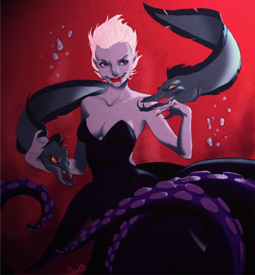 She used to be so sexy. Ursula, from The Little Mermaid.