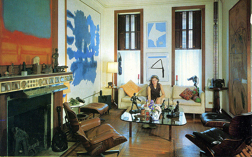 Robert Motherwell and Helen Frankenthaler's home in 1967. They divorced in 1971.