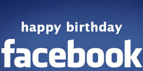"Happy Birthday, Facebook. Can you believe it's been 8 years since ""TheFacebook"" launched from a Harvard dorm room by a kid named Mark Zuckerberg?  The success of Facebook didn't happen overnight - but it is astounding. With more than 800 million members, it's evolved from a network of university students to a global neighbourhood. This revolutionary platform has completely changed the way we communicate, and strengthened the degrees of connection between people and their friends, interests, favourite sports teams, and of course their favourite brands.  Other networks like Twitter, Tumblr and new kid on the block, Pinterest, have achieved an impressive user base in their own right, but nothing has come close to Facebook. It's always difficult to predict changes and trends in social media, but with the recent news of Facebook's $5 billion IPO announcement, we feel they're a safe bet."
