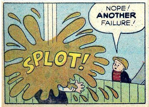 (via Bully Says: Comics Oughta Be Fun!)  (Panel from Four Color #1034 [Nancy and Sluggo Summer Camp] (September-November 1959)