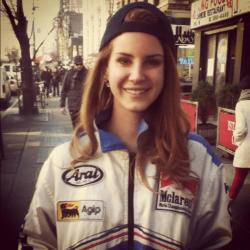 Had a mini run in with Lana Del Rey today! Sweetest girl ever!