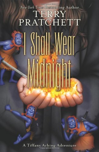 I Shall Wear Midnight (Discworld) Terry Pratchett A big, fat 5/5 for this, the final Tiffany Aching book, from me. As she does for my friends, Nathan and Courtney, the young Miss Aching appeals no end; she is moral, caring, a thinker and understands that while she has a place in the world, it is often complicated by difficult or potentially unpopular decisions. Though Pratchett originally wrote this subset of the Discworld novels for a younger audience, there's absolutely no reason they ought not be on the reading list of any Discworld fan. Nay, any fantasy fan. With the Tiffany Aching books, Pratchett has moved beyond the (very excellent, mind you) silliness and satire present in many of his earlier pieces to a more profound, gentle humor laced with more than a condiment level of humanity. It's a great read, no matter whether you're a fan of the author or genre or not.