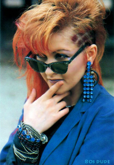 80s-dude:  Cyndi Lauper  I love this woman.