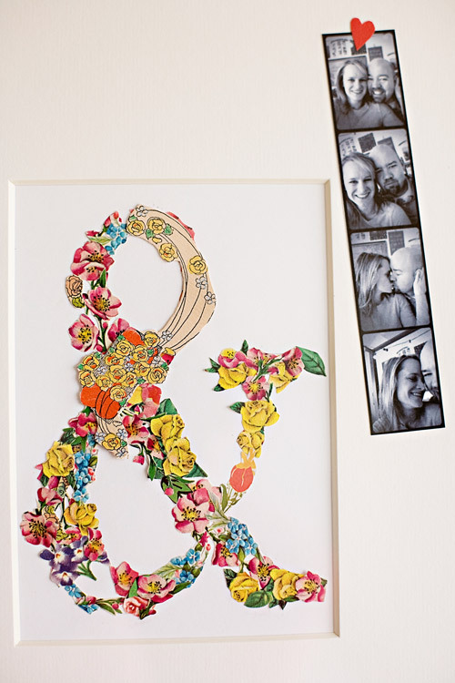 DIY Project: ephemera collage valentine | Design*Sponge