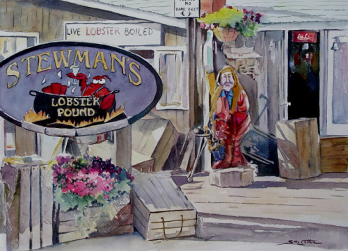 """Stewman's Lobster Pound"" by Sue Lynn Cotton"