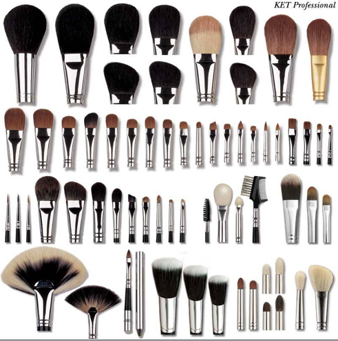 ahhh!  So many brushes!!!