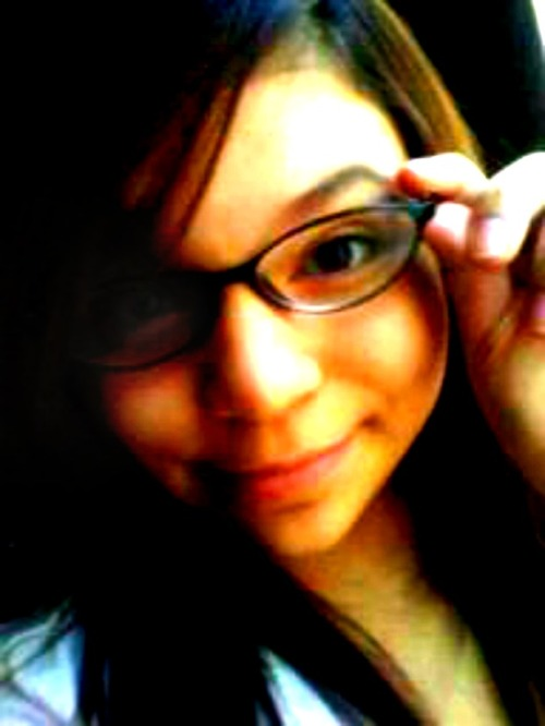 me nd my geeky self (: