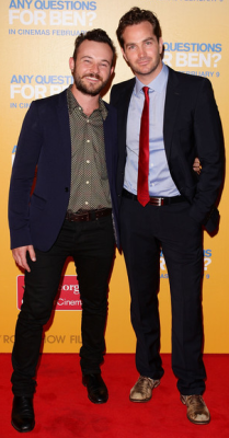 'ANY QUESTIONS FOR BEN' SYDNEY PREMIERE - DANIEL HENSHALL & CHRISTIAN CLARK It was Aussie celeb central last night at St George Open Air Cinema, with the premiere of 'Working Dog' film 'Any Questions For Ben'. Stars of the film Rachael Taylor, Josh Lawson, Christian Clark, Jodi Gordon, Liliya May, Daniel Henshall & Felicity Ward walked the red carpet, and we have the hottest shots fresh off the press here for YOUR viewing pleasure! Image Source: Zimbio