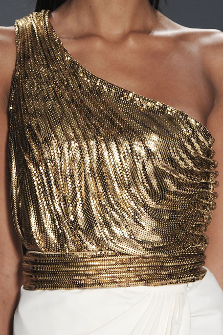 fashion-details:  Carlos Miele . Spring 2012  she's got great clavs.