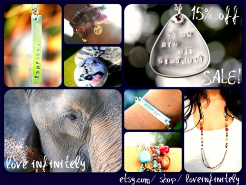 Sale in the Love Infinitely Shop! Use the code: lovelovelove